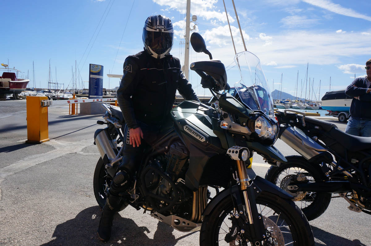 self guided motorcycle tours spain
