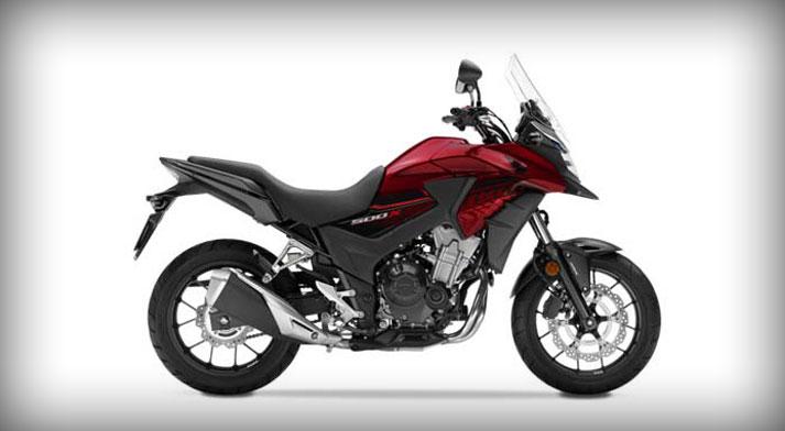 Honda CB500X rental